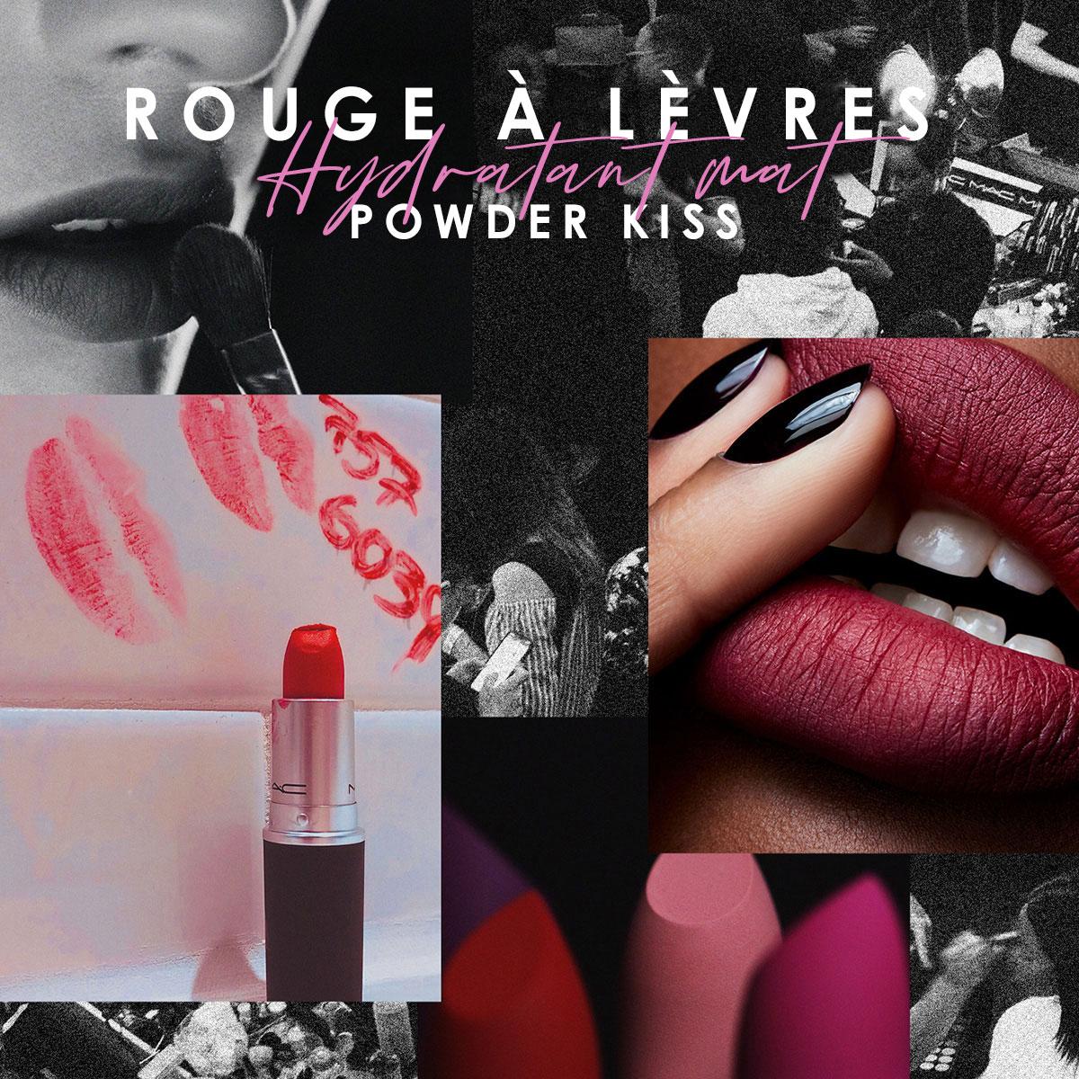 Rouge à lèvres Powder Kiss